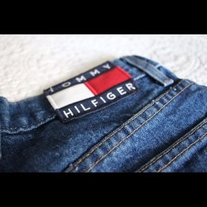 Tommy Hilfiger 90s Mid-High Waisted Denim Shorts